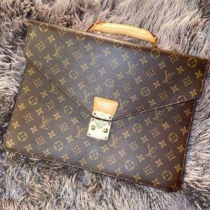 Louis Vuitton Attaché Handbag